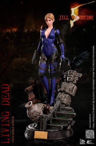 【Preorder】JORSING x Hot Heart Studio Resident Evil Zombie Killer Jill Valentine Resin Statue's Postcard