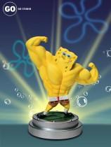 【Preorder】GO Studio Muscle SpongeBob SquarePants Resin Statue's Postcard