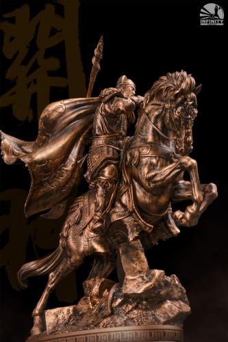 【Preorder】Infinity Studio Design Series Three-Kingdoms Generals- Guan Yu Bronzed Resin Statue's Postcard