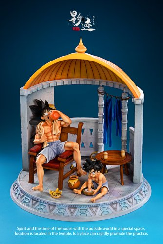 【In stock】DIM Model Studio Dragon Ball Father and Son's Leisure Time Resin Statue