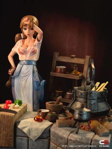 【Preorder】Creation Epic Studio Woman Cook Resin Statue's Postcard