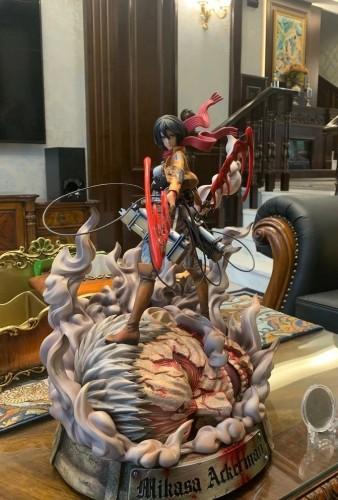 【In Stock】LC Studio Attack on Titan Mikasa·Ackerman resin statue