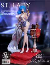【Preorder】Dragon Studio Azur Lane Luxurious Wheels Resin Statue's Postcard