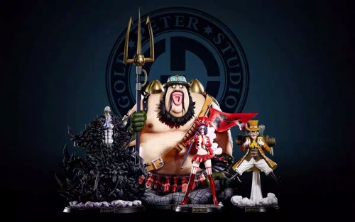 【In Stock】GP Studio ONE PIECE Revolutionary Army Four Major Commanders Resin Statue