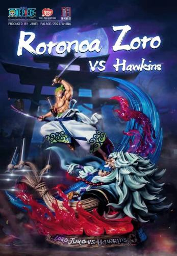 【Preorder】JIMEI Palace ONE PIECE Zoro vs Hawkins Copyright Resin Statue's Postcard