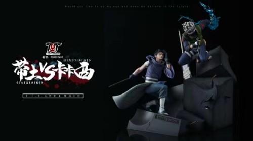【Preorder】T.O.T Studio Naruto Uchiha Obito VS kakashi Resin Statue's Postcard