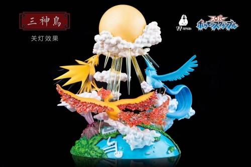 【Preorder】FF Studio Pokemon The Three Holy Bird Resin Statue's Postcard