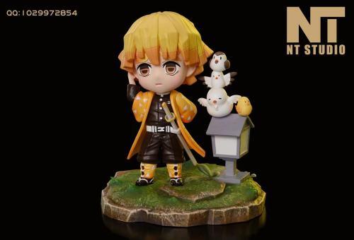 【Preorder】NT Studio Demon Slayer Agatsuma Zenitsu  SD Scale Resin Statue's Postcard