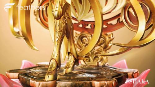 【Preorder】Feather Studio Saint Seiya Virgo Shaka Resin Statue's Postcard