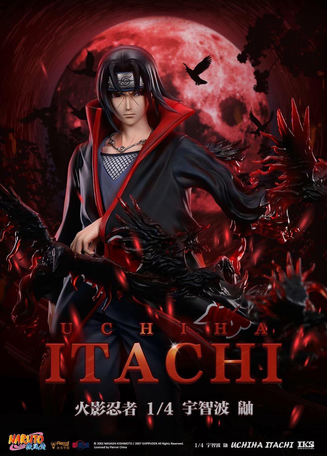 【Preorder】Iron Kite Studio NARUTO Uchiha Itachi Resin Statue(Copyright)Postcard