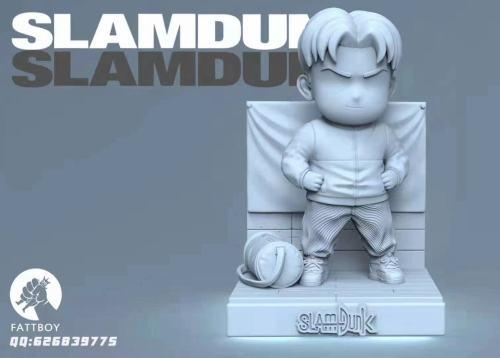 【Preorder】Fattboy Studio SlamDunk Kiyota Nobunaga Resin Statue's Postcard