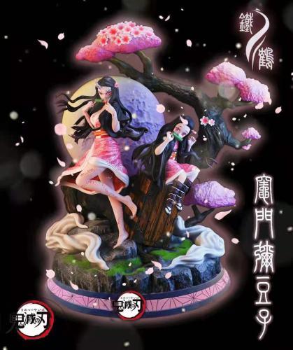 【Preorder】Iron Crane Studio Demon Slayer Nezuko Resin Statue's Postcard
