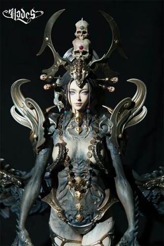 【Preorder】Hades Studio White Bone Demon Resin Statue's Postcard