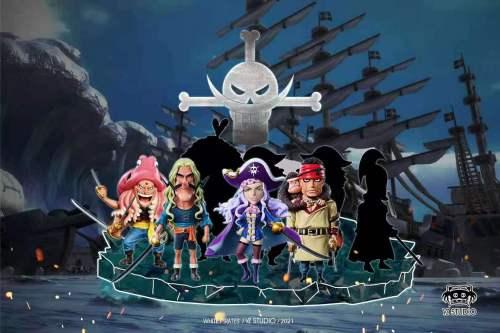 【Preorder】YZ Studio ONE PIECE White Pirates Dorma&Karma Resin Statue's Postcard