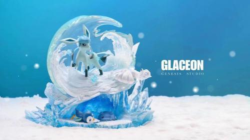 【Preorder】GENE Studio Pokemon Glaceon Resin Statue's Postcard