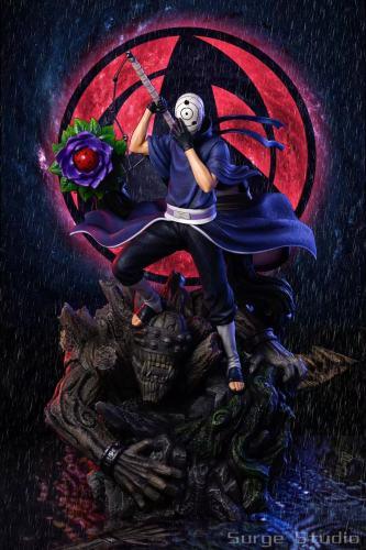 【Preorder】Surge Studio Naruto Uchiha Obito Resin Statue's Postcard