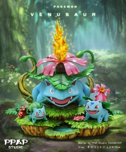 【Preorder】PPAP Studio Pokemon Venusaur Resin Statue's Postcard