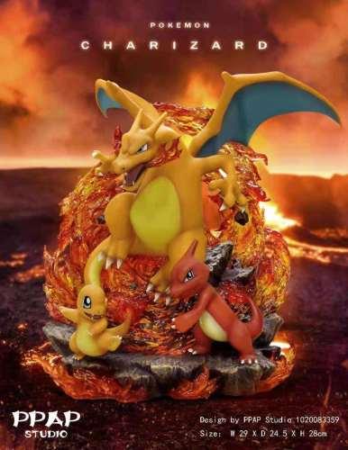 【Preorder】PPAP Studio Pokemon Charizard Resin Statue's Postcard