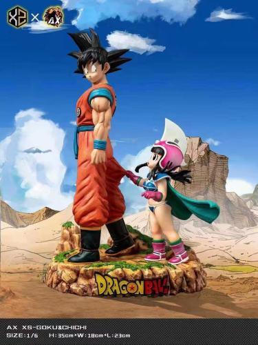 【Preorder】XS-Studios&AX-Studios Dragon Ball Goku&Chichi Resin Statue's Postcard