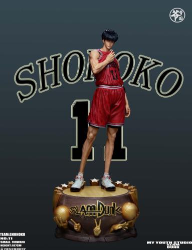 【Preorder】My Youth Studio SlamDunk Kaede Rukawa Resin Statue's Postcard