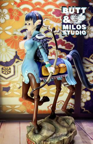 【Preorder】Butt&Milos.Studio One Piece O-Tama & Speed Resin Statue's Postcard