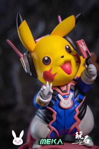 【Preorder】Wanshi Studio Pokemon Pikachu cosplay DVA Resin Statue's Postcard