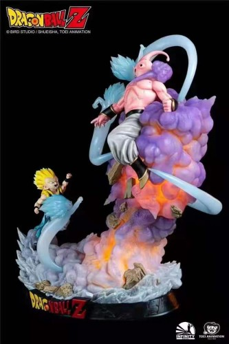 【Preorder】Infinity Studio Dragon Ball Gotenks VS Buu Copyright Resin Statue's Postcard