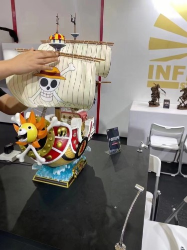 【Preorder】Infinity Studio One Piece Thousand Sunny Copyright Resin Statue's Postcard