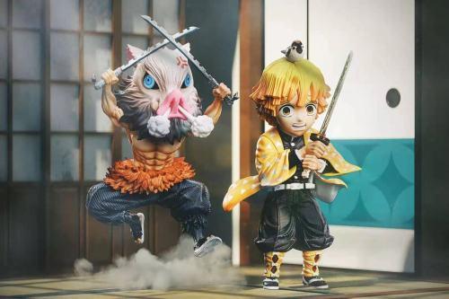 【Preorder】G5 Studio Demon Slayer Kisatsutai Inosuke&Zenitsu Resin Statue's Postcard