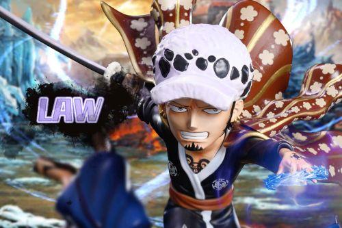 【Preorder】Chengfeng Studio One Piece Trafalgar Law Resin Statue's Postcard