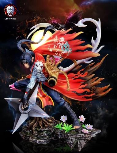 【Preorder】LEO OF SKY Studio Naruto Uchiha Itachi Rresin Statue's Postcard
