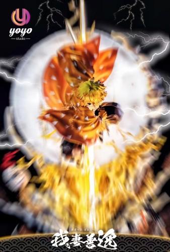 【Preorder】YOYO Studio Demon Slayer Zenitsu Resin Statue's Postcard