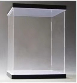【In Stock】Customsized Acrylic Display Box With Top Light and 3cm Raised Base