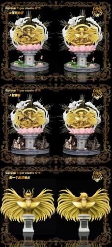 【Preorder】Golden Tiger Studio Saint Seiya Virgo Shaka Resin Statue's Postcard