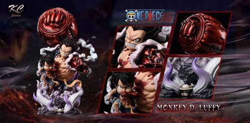 【In stock】KC Studio One Piece Gear Fourth Luffy Resin Statue's Postcard