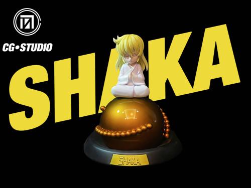 【Preorder】CG Studio Saint Seiya Childhood Virgo Shaka Resin Statue's Postcard