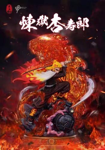 【Preorder】LC Studio Demon Slayer Rengoku Kyoujurou No.1 Resin Statue's Postcard