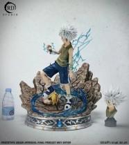 【Preorder】RD Studio HUNTERxHUNTER Killua Zoldyck vs Menthuthuyoupi resin statue's post card