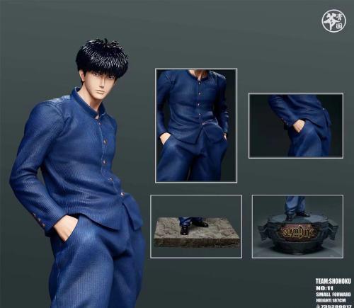 【Preorder】My Youth Studio SlamDunk Kaede Rukawa Uniform Version Resin Statue's Postcard