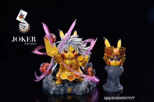 【Preorder】Joker Studio Pikachu cosplay Saint Seiya Gemini SAGA Resin Statue's Postcard