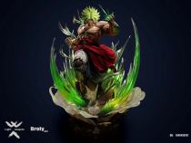 【Preorder】Light Weapons Studio Dragon Ball Broli Resin Statue's Postcard