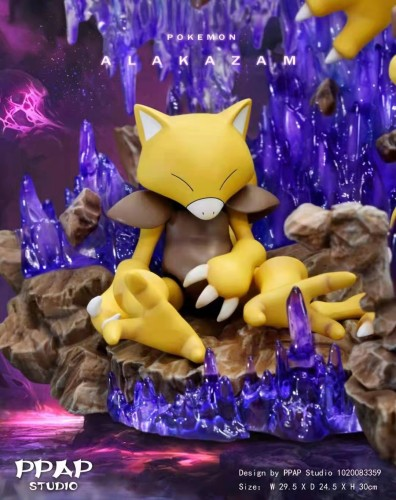 【Preorder】PPAP Studio Pokemon Alakazam Resin Statue's Postcard