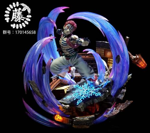 【Preorder】Zitenghua Studio Demon Slayer Akaza Resin Statue's Postcard
