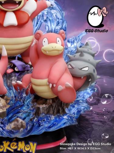 【Preorder】Egg Studio Pokemon Slowbro Resin Statue's Postcard