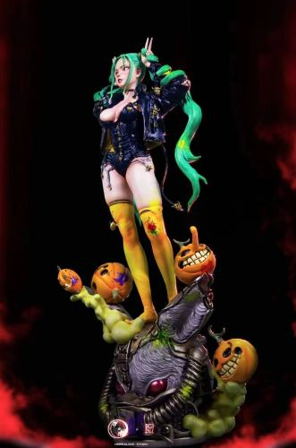 【Preorder】WANXIANG Studio City Girl Series Halloween Resin Statue