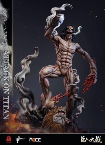 【Preorder】LC Studio Attack on Titan Agito no Kyojin vs Sentsui no Kyojin Resin Statue