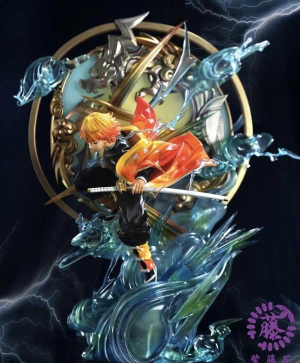【In Stock】Zitenghua Studio Demon Slayer Agatsuma Zenitsu Ex Version Resin Statue