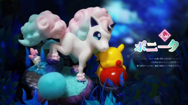 【Preorder】DEM Studio Pokemon Ponyta Resin Statue