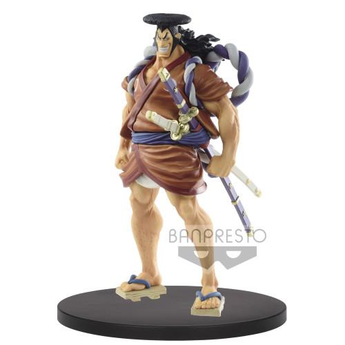 【In Stock】Banpresto One Piece DXF Kozuki Oden PVC Statue