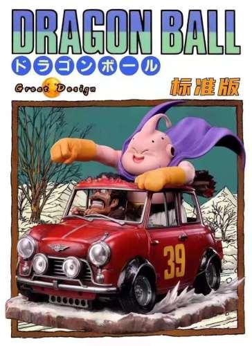 【Preorder】XBD Studio Dragon Ball Buu haulage motor Resin Statue